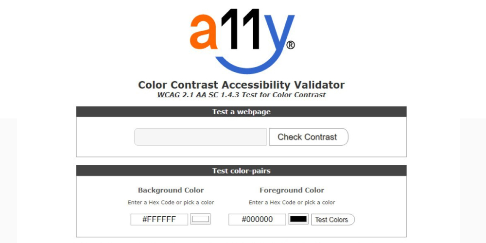 A11Y-Color-сontrast-Accessibility-Validator
