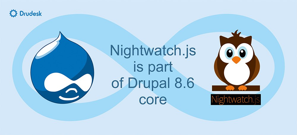 Nightwatch js in Drupal 8 for automated browser testing