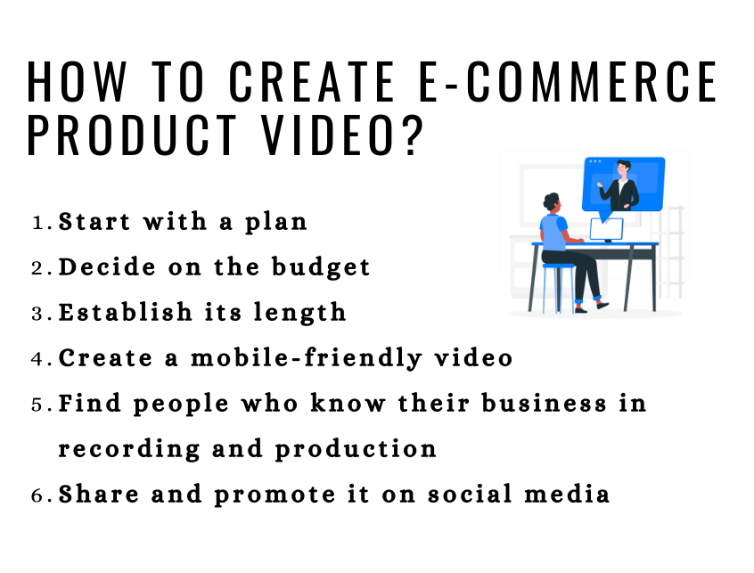 How to Make Ecommerce Product Videos For Your Ecommerce