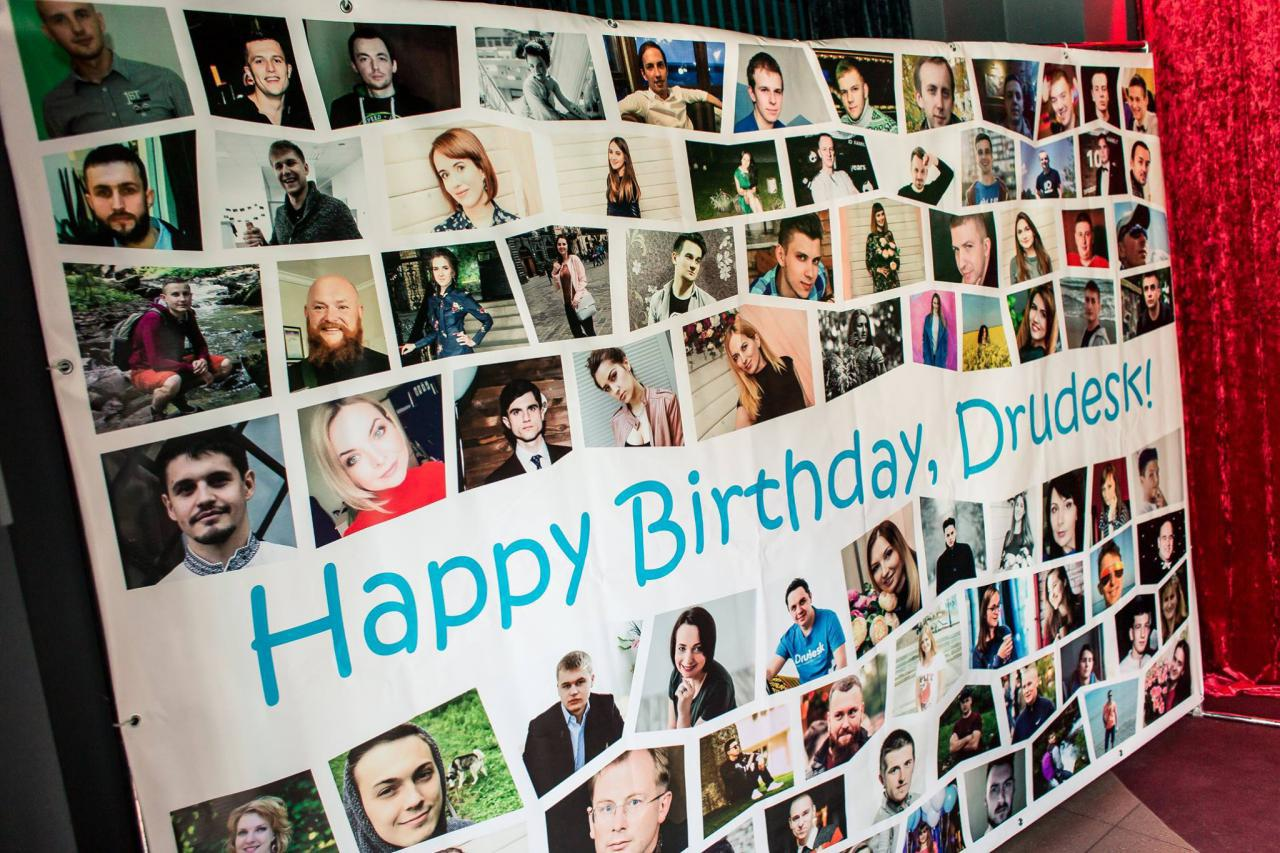 Drudesk birthday