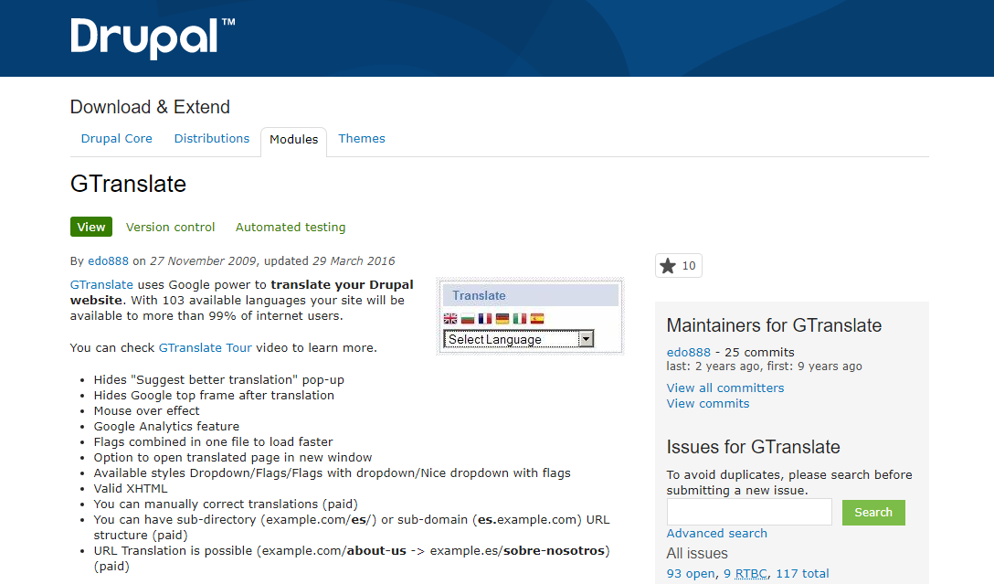 Drupal 8 modules for multilingual features | Blog Drudesk