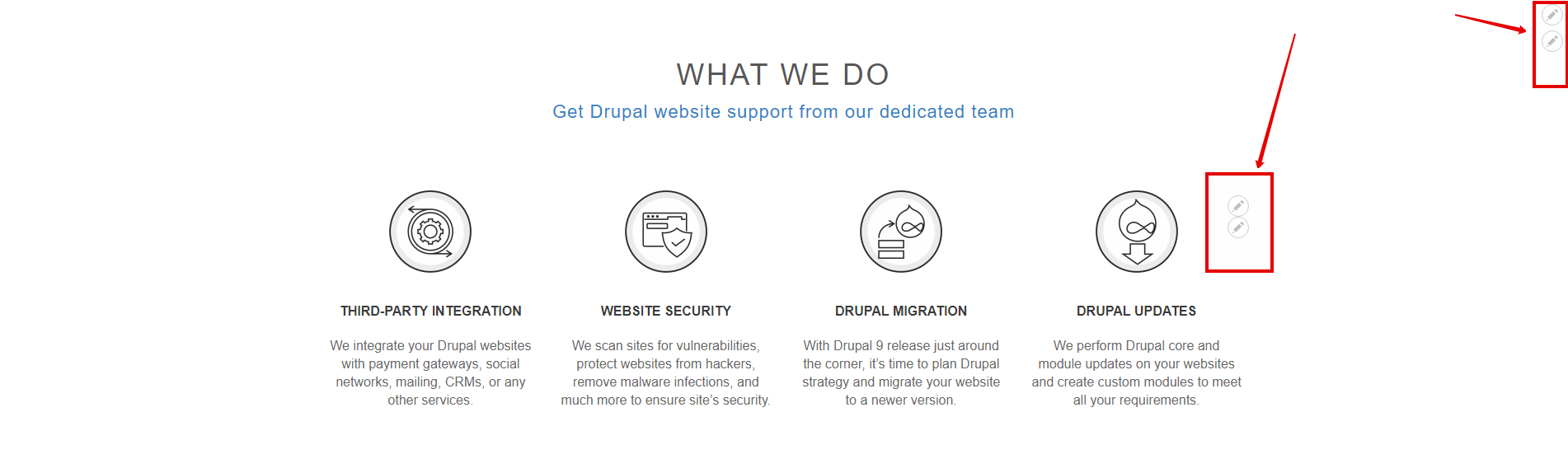 Improvements for Drupal 8 content editors | Blog Drudesk
