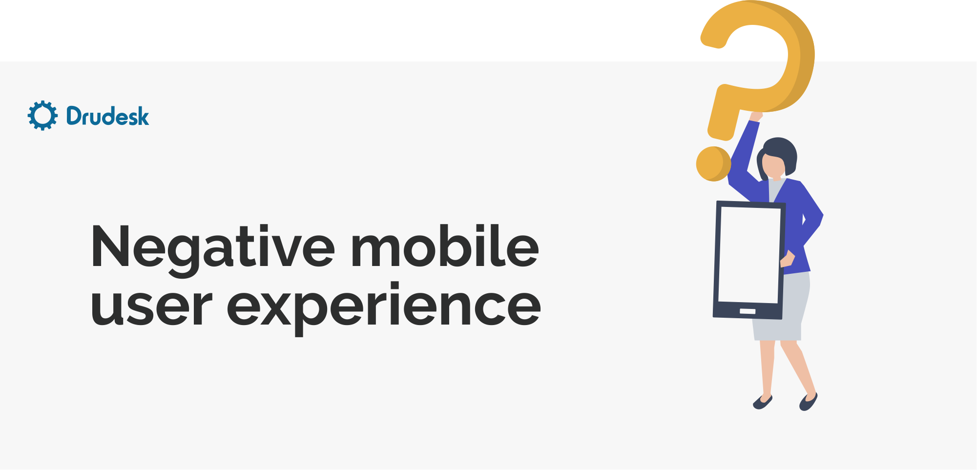 Negative mobile user experience