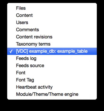 Views Database Connector Drupal module