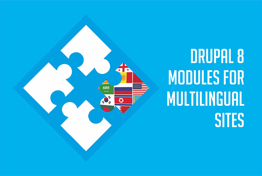 Drupal 8 modules for multilingual websites