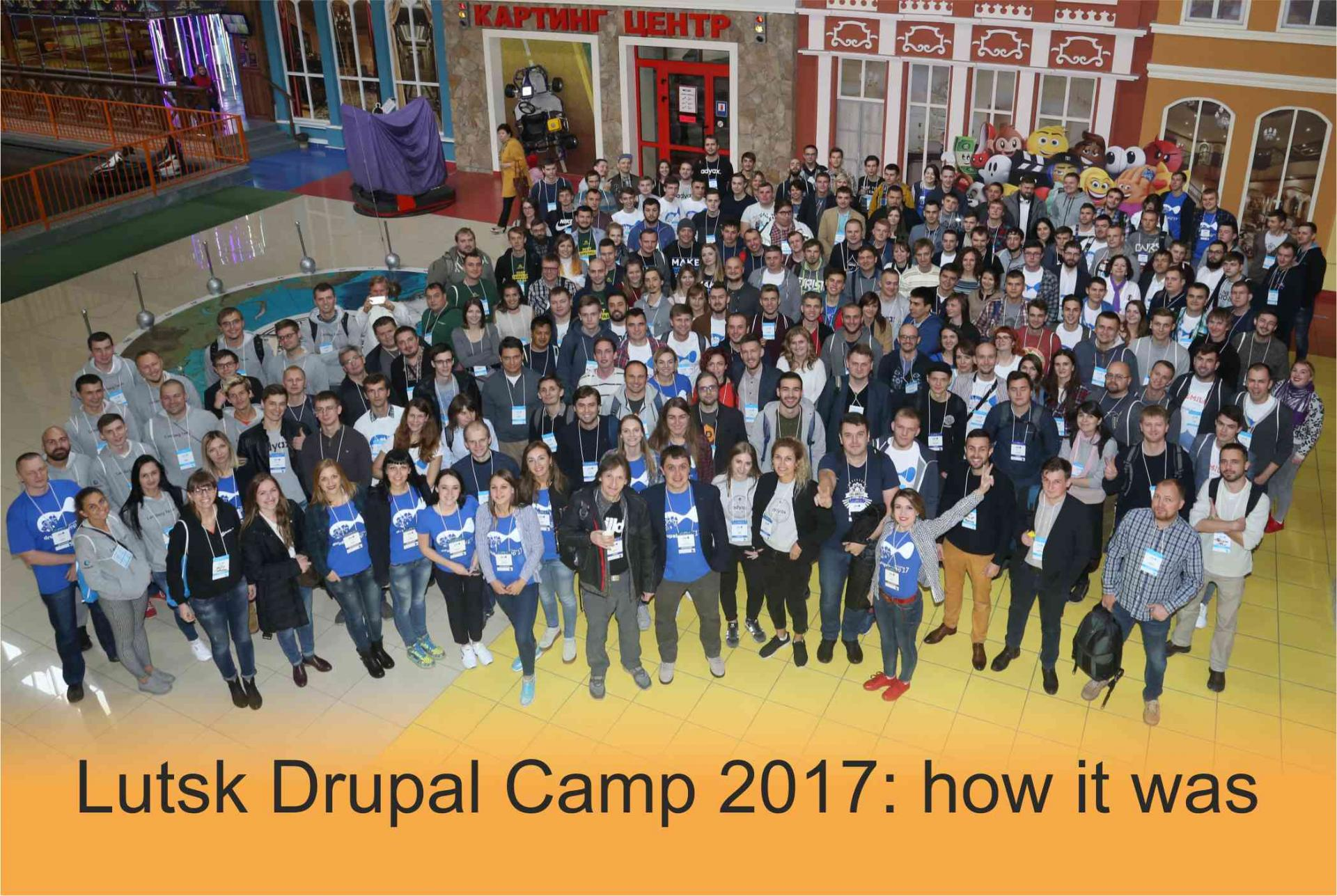 Intellect, fire, water, and medieval castles at Lutsk Drupal Camp 2017