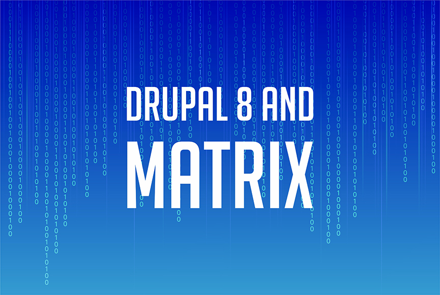 Drupal 8 and Matrix chat rooms: communication of the future