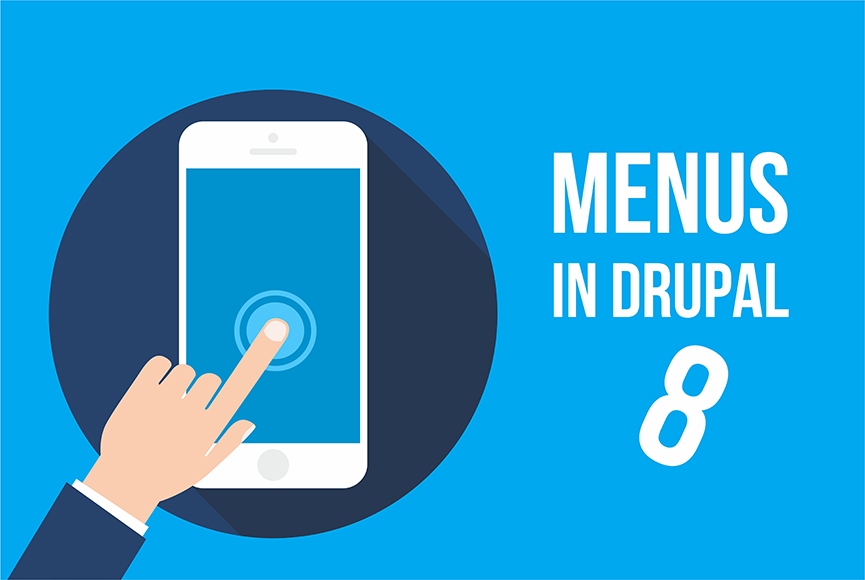 Creating menus in Drupal 8