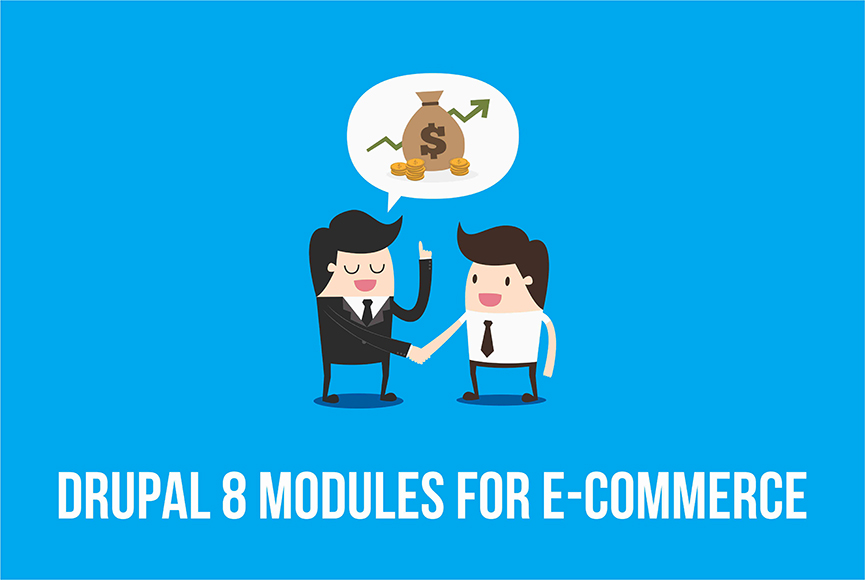 Online store on Drupal 8. Useful e-commerce modules