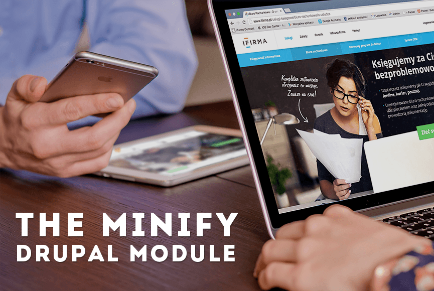Use the Minify Drupal module to maximize your website speed