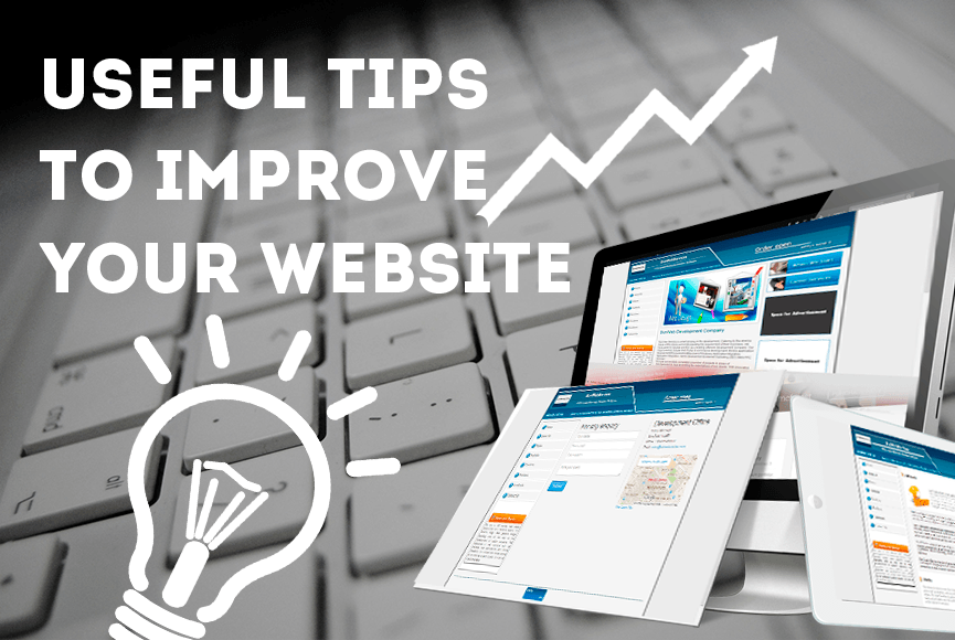 A collection of 12 useful tips to improve your website