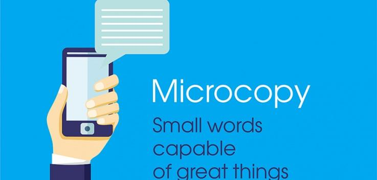 Microcopy: a short way to improve UX
