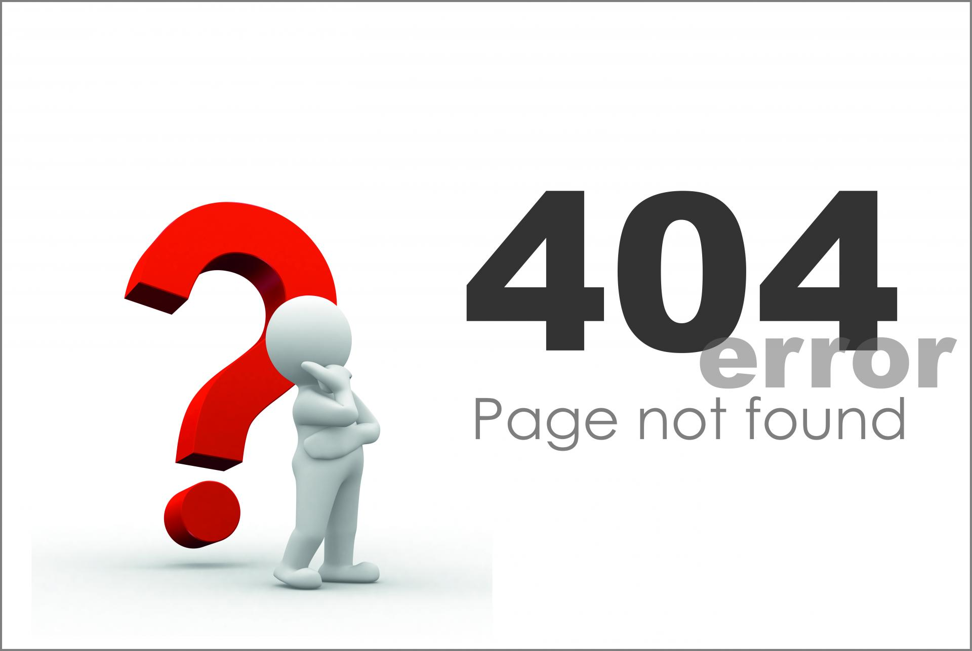What is a 404 Not Found error and how to fix it correctly