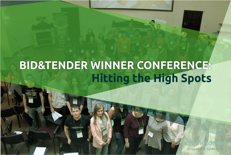 Bid&Tender Winner Conference: Hitting the High Spots