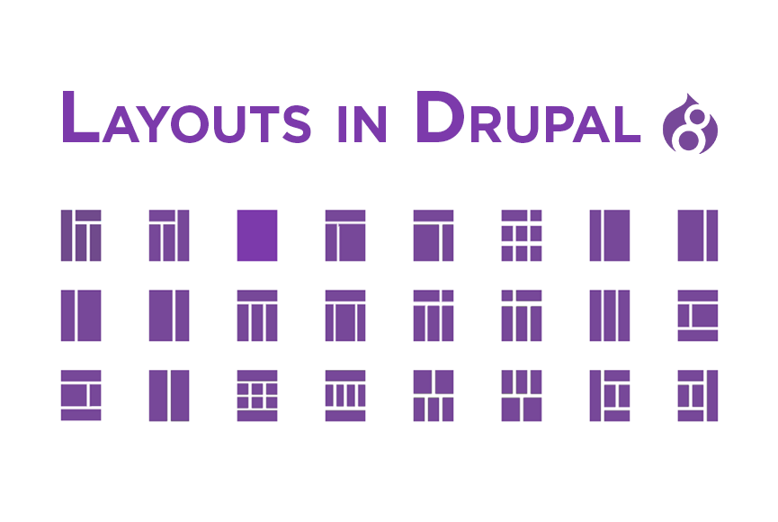 Layouts in Drupal 8