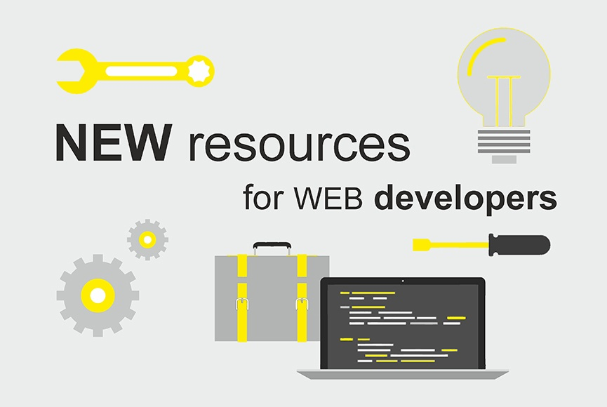 Some useful new resources for web developers 2016