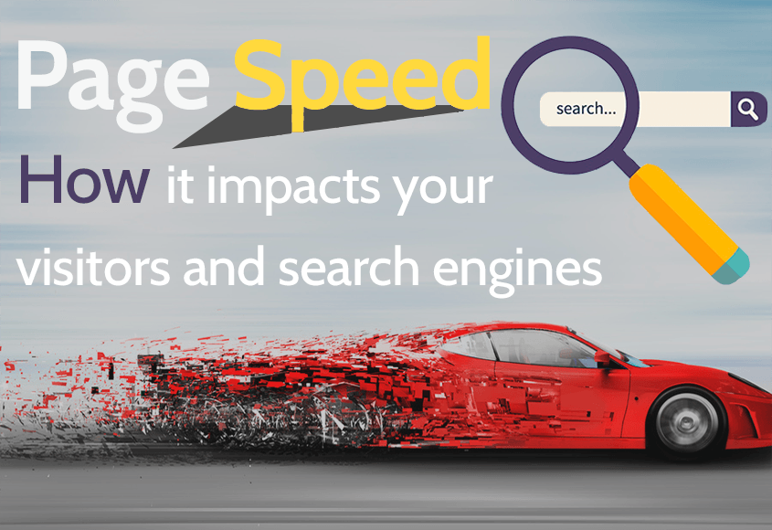 The influence of page speed on visitors and search engines