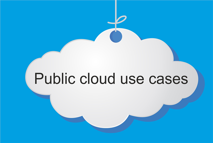 Top uses of public clouds