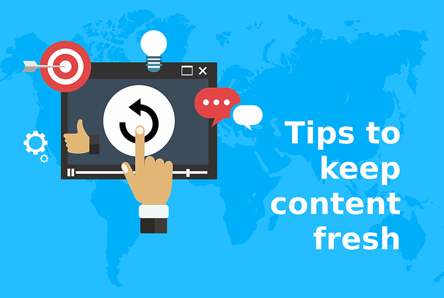 How to easily refresh content on your website