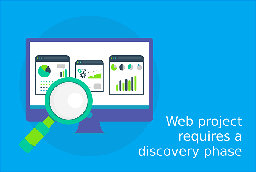 Signs showing that your web project requires a discovery phase