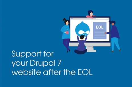 Support for Drupal 7 website after end-of-life