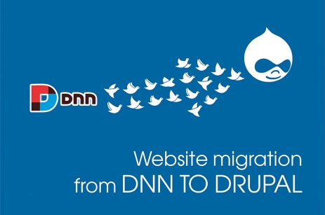 Migrate website from DNN to Drupal