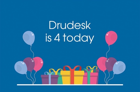 Drudesk celebrates its 4th birthday