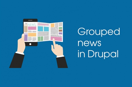 Grouped news in Drupal