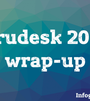 Drudesk 2016 wrap-up — infographics