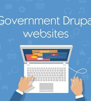 Government Drupal websites