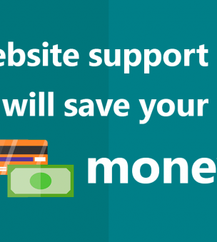 Save your money thanks to your website support