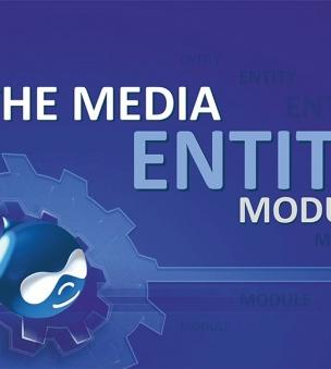 The Media Entity module for Drupal 8