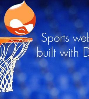 The winning spirit: awesome sports websites built with Drupal