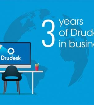 Drudesk's third birthday