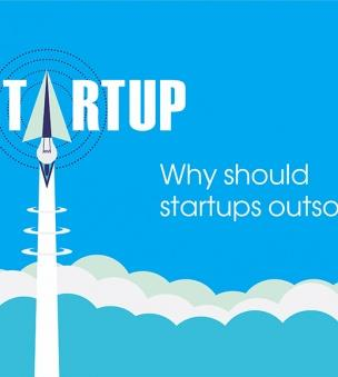 why startups should outsource