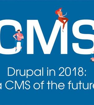 Drupal is a leading CMS in 2018