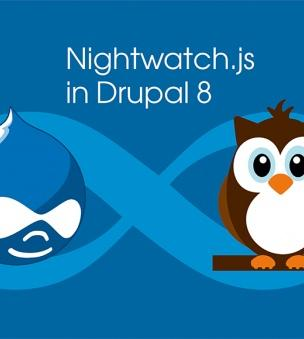 Nightwatch.js in Drupal 8