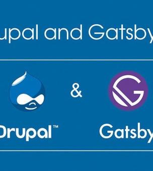 Drupal and GatsbyJS for high website speed
