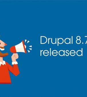 What's new in Drupal 8.7.0