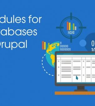 Modules to work with databases in Drupal