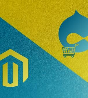 Drupal Commerce vs Magento – which ecommerce platform is